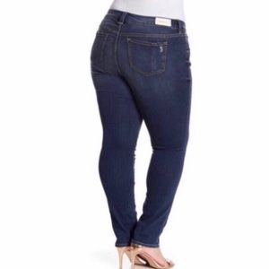 Slinky Brand Jeans - Slink Brand Destructed Skinny Jeans